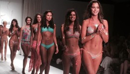 Luli Fama Miami Swimwear Fashion bikini Collection 2016 Runway show during Miami Swim Weekeek 5