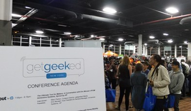 getgeeked NY Tech Product Review Launch Event Oct. 2015 - Brooklyn Expo Center 5