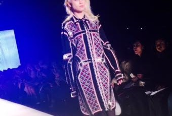 Herve Leger Fall 16 Fashion Show during #NYFW #fall16 @herveleger 6