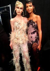 FW17 The Blonds Preciosa Crystal Backstage owed by fashionsdigest.com