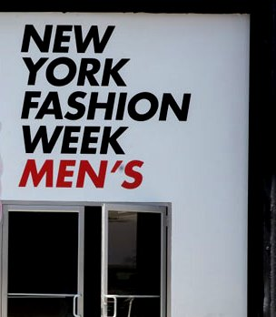 New York Fashion Week Men's Shows Fall/Winter 17 Fashion Week #NYFWM @CFDA 8