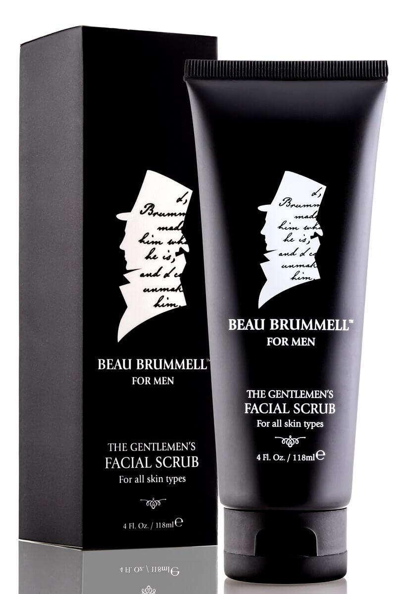 Beau Brummell The Gentlemen's Facial Scrub Fashionsdigest.com